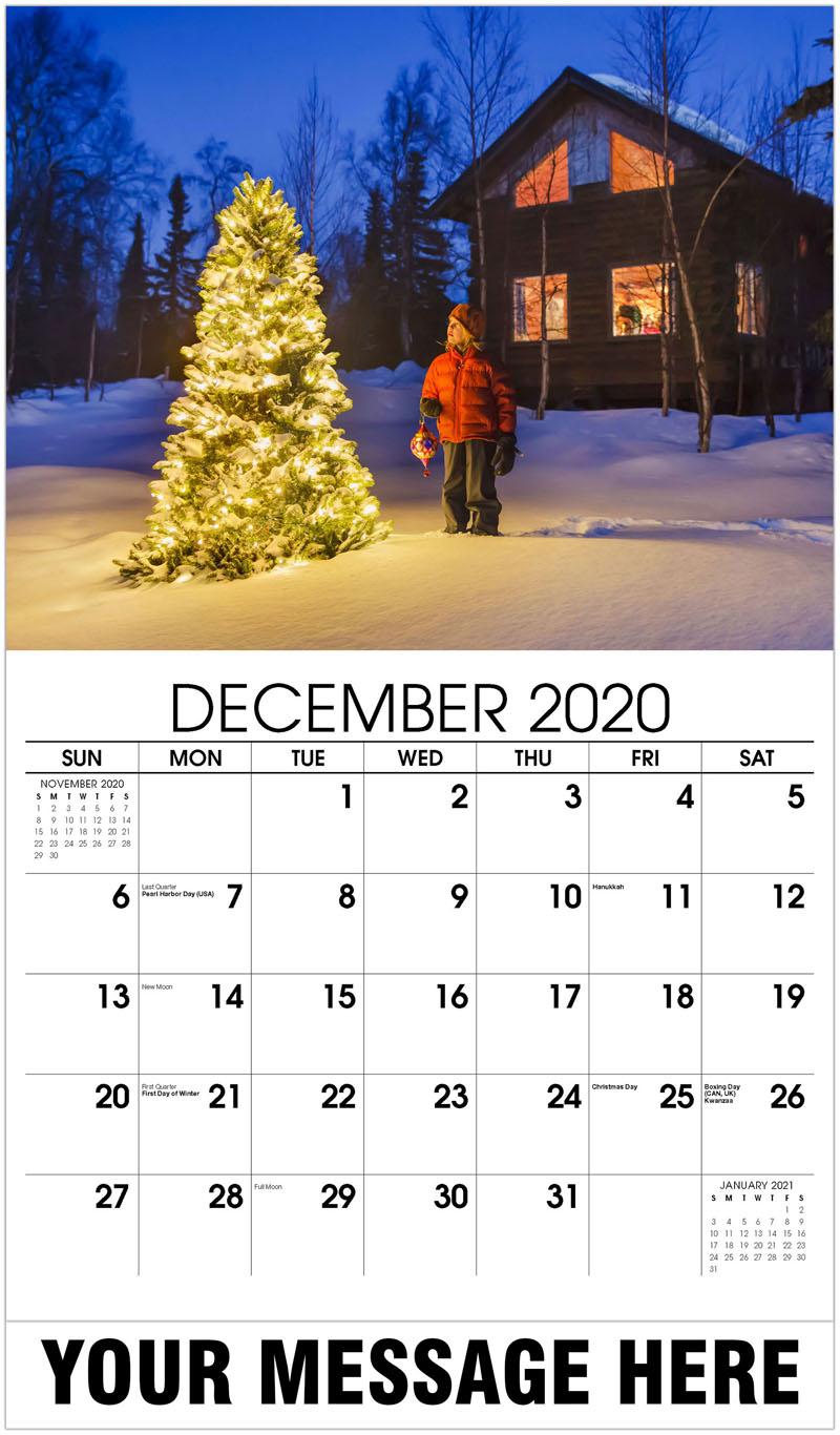 2020 Advertising Calendar - Country Christmas Tree - December_2020