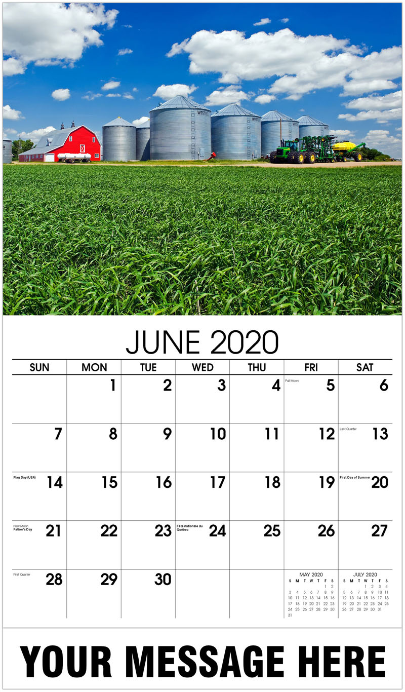 2020 Promo Calendar - Grain Silo - June