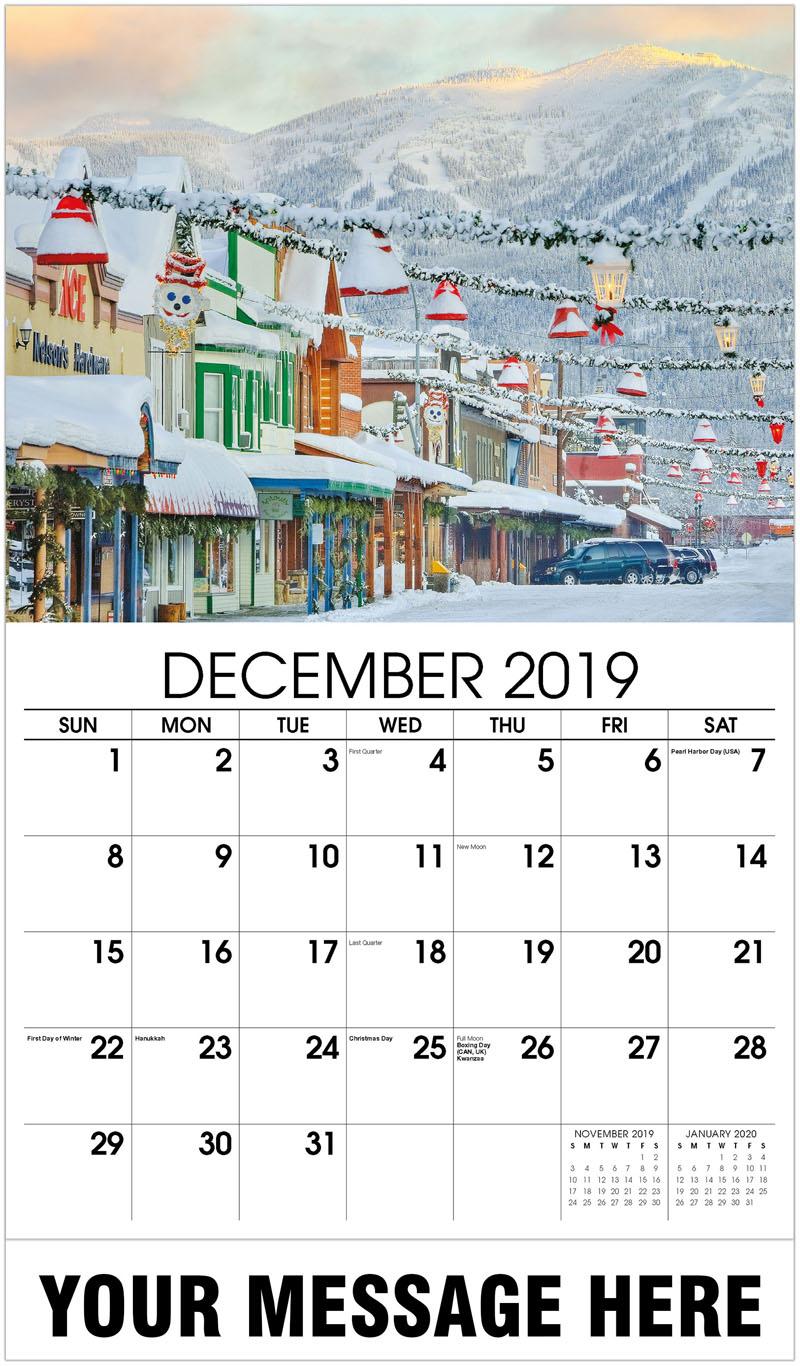 2020 Promotional Calendar - Winter Light - December_2019