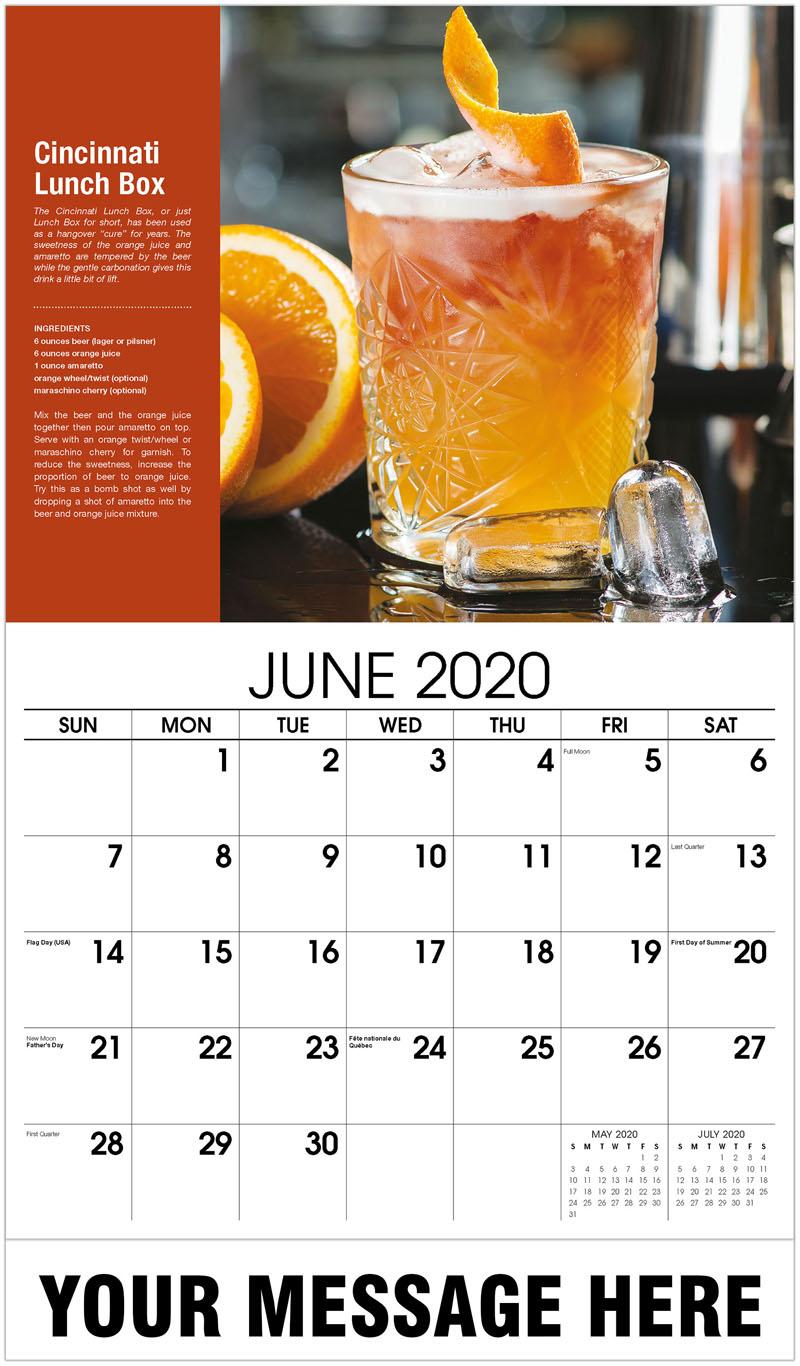 2020 Promo Calendar - Cincinnati Lunch Box - June