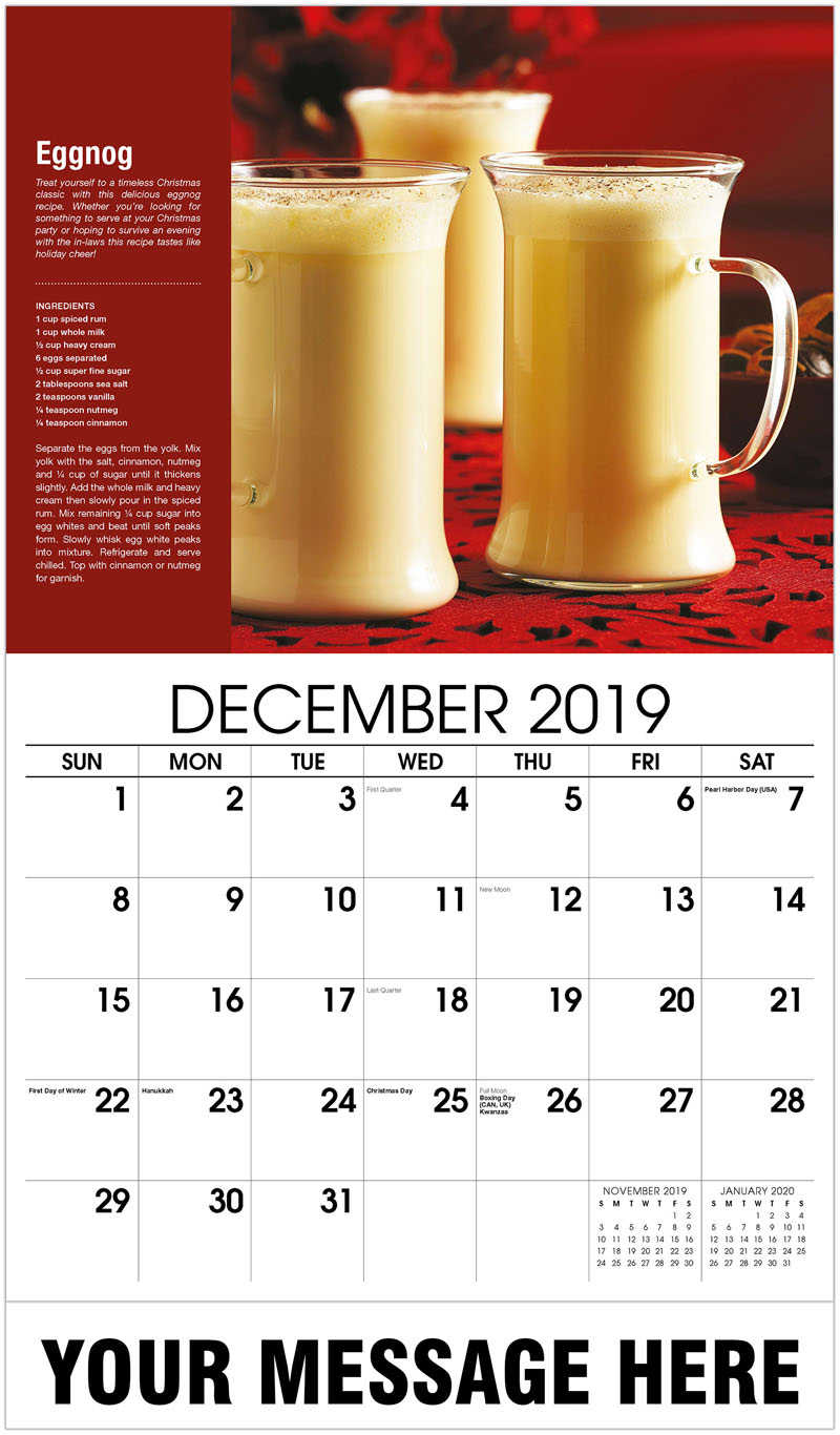 2020 Promotional Calendar - Eggnog - December_2019