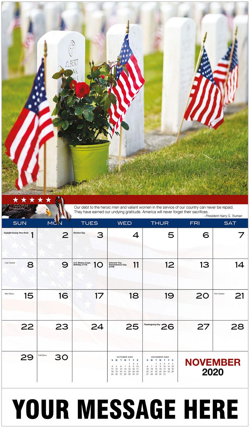 2020 Promo Calendar - Graves - November