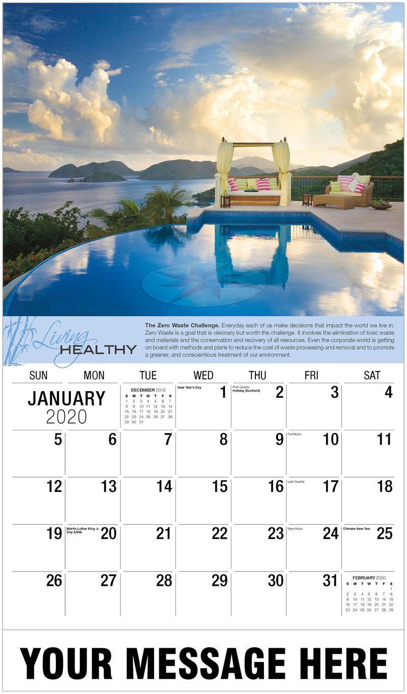 2020 Promotional Calendar - St John Residence - January