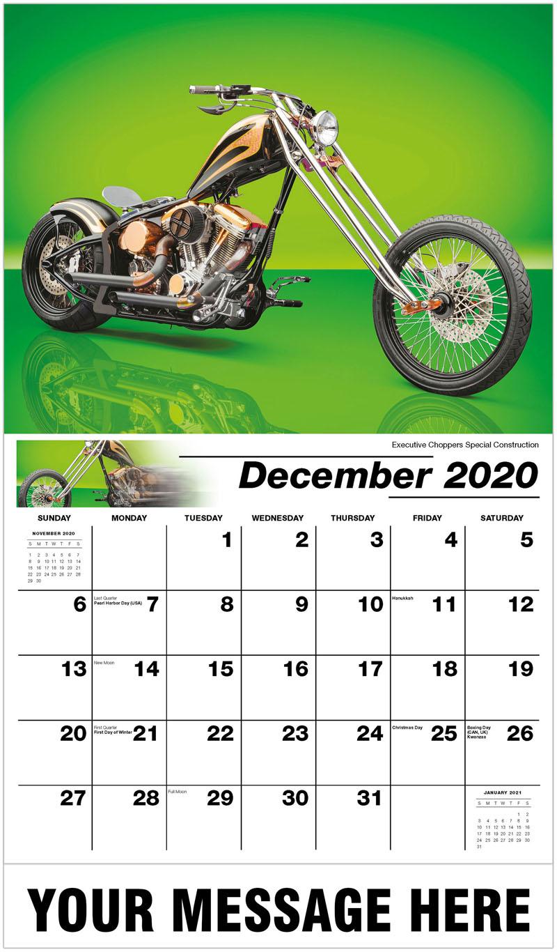 2020 Advertising Calendar - Executive Choppers Special Construction - December_2020