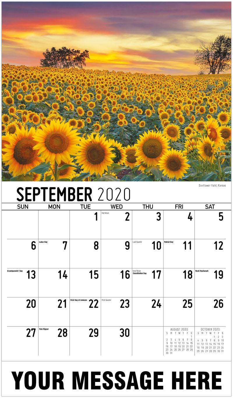 2020 Business Advertising Calendar - Miami, Florida - September