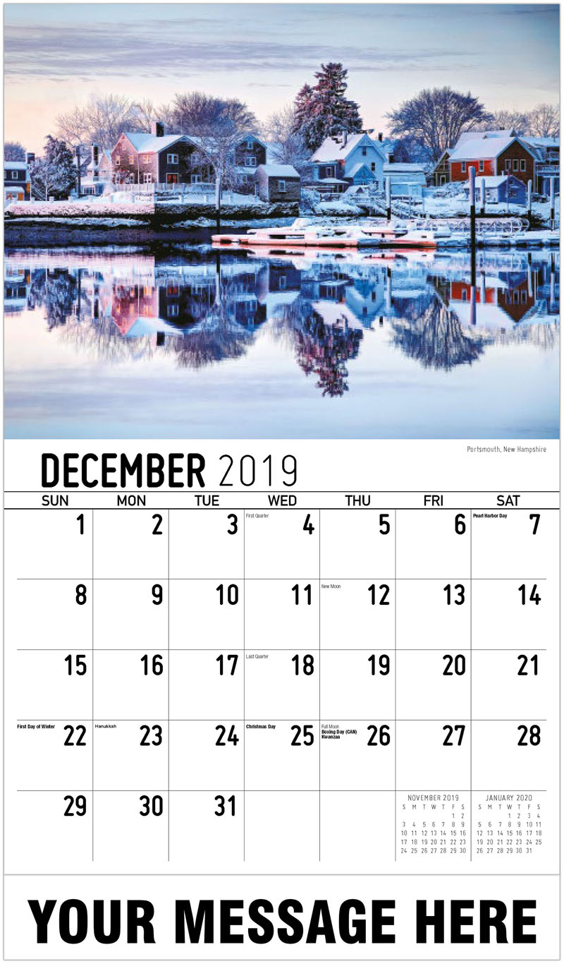2020 Promo Calendar - Portsmouth, New Hampshire - December_2019