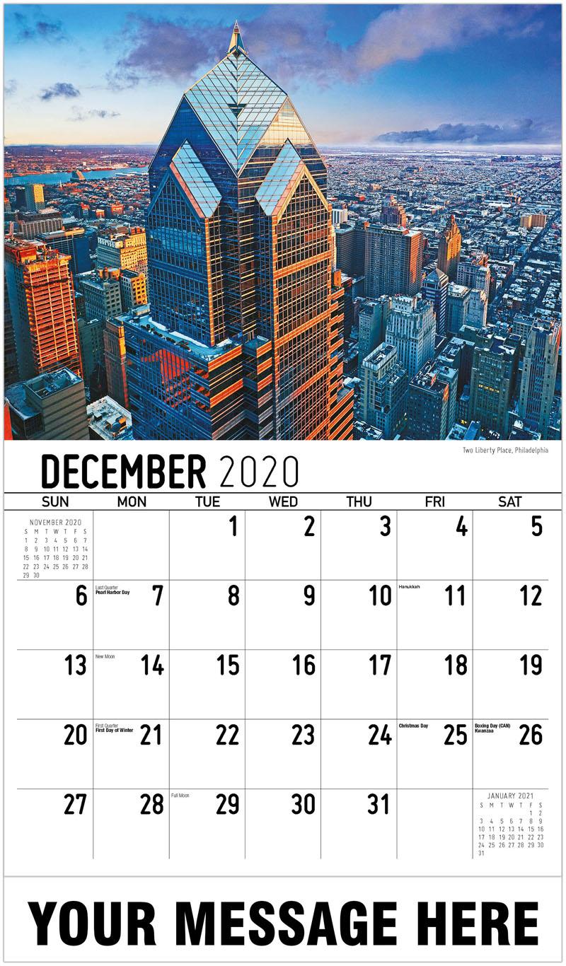 2020 Promo Calendar - Two Liberty Place, Philadelphia - December_2020
