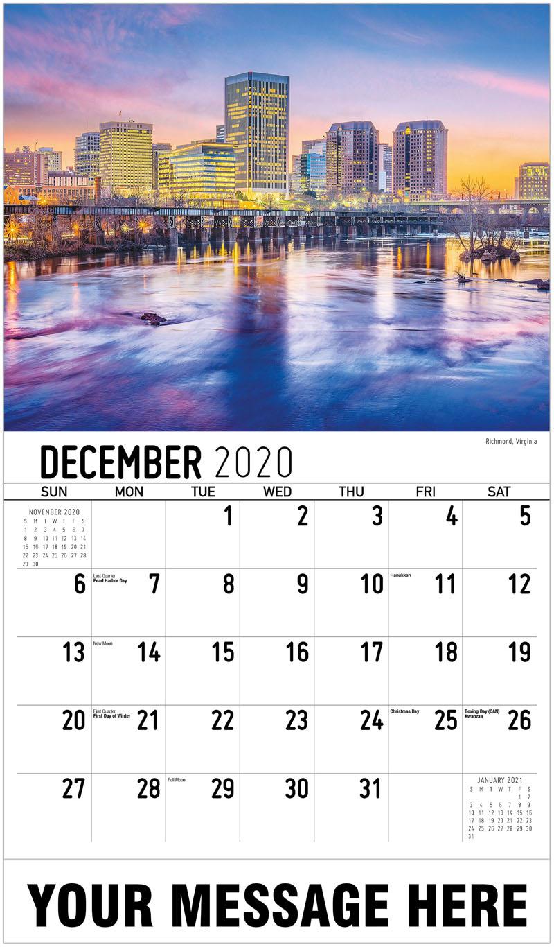 2020 Advertising Calendar - Richmond, Virginia - December_2020