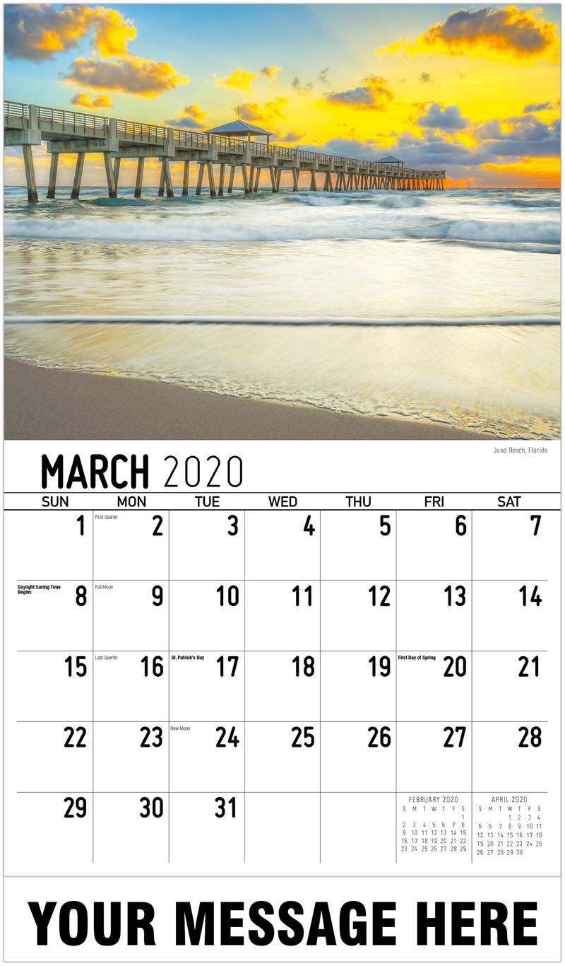 2020 Promo Calendar - Juno Beach, Florida - March