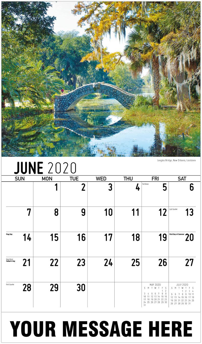2020 Promo Calendar - Savannah, Georgia - June
