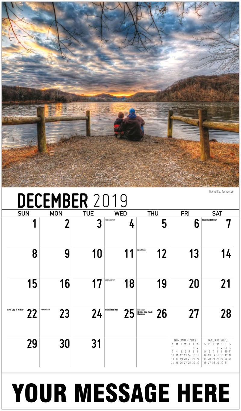 2020 Promotional Calendar - Nashville, Tennessee - December_2019