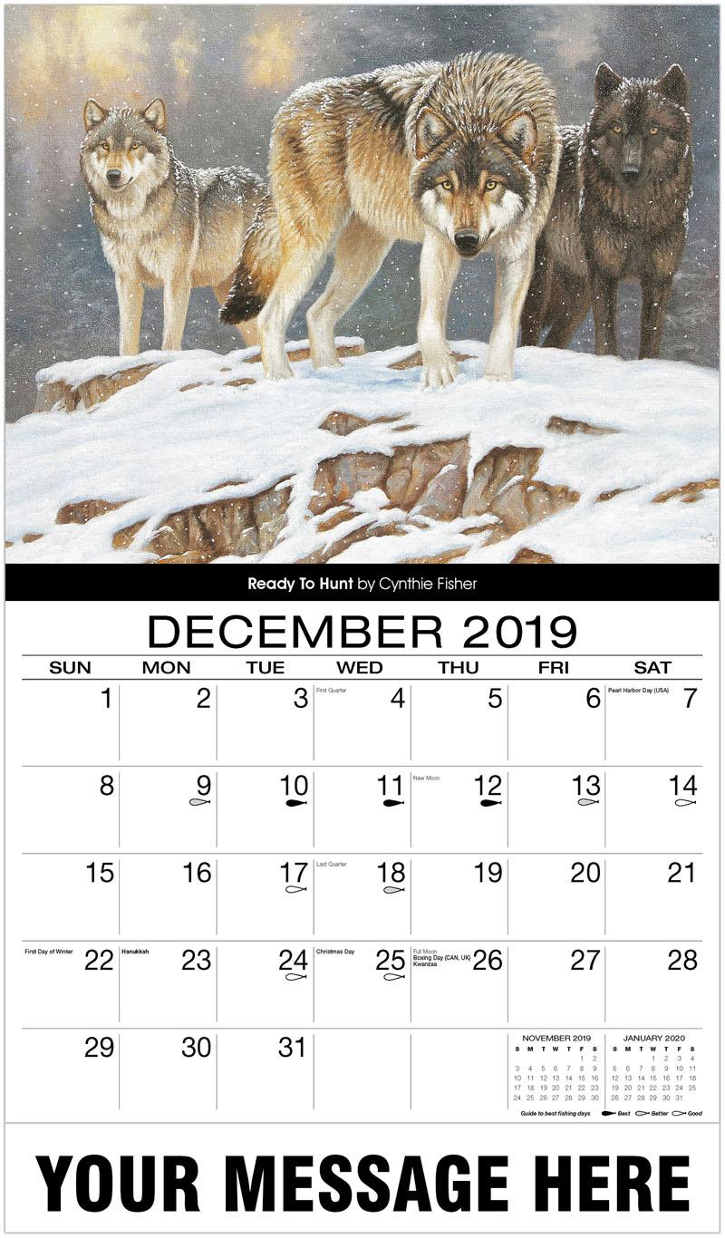 2020 Advertising Calendar - Ready To Hunt - December_2019
