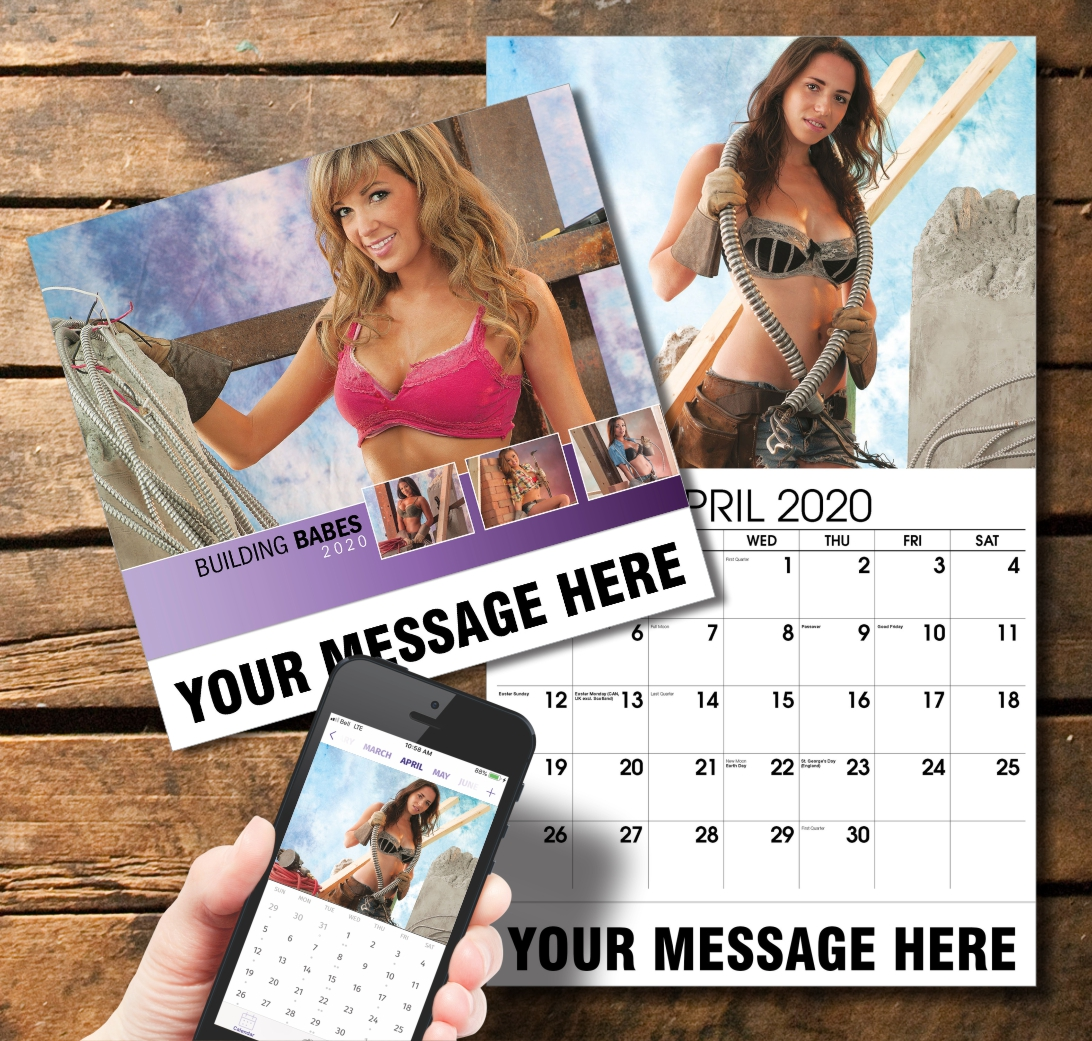 2020 Business Promotion Calendar - Building Babes and PlumTree app