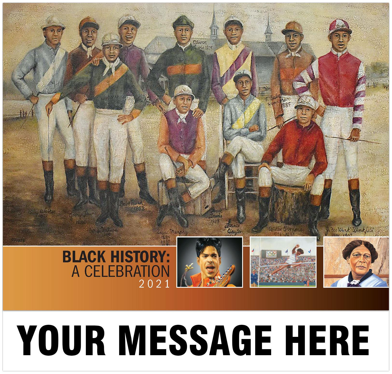 2021 Black History Promotional Calendar