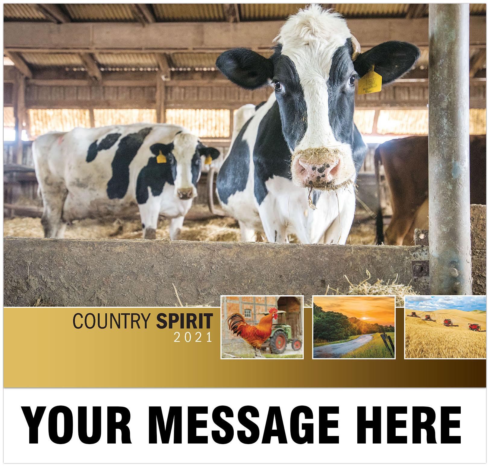 2021 Country Spirit Promotional Calendar