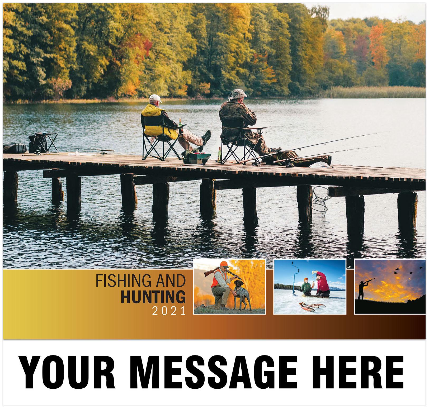 2021 Fishing & Hunting Promotional Calendar