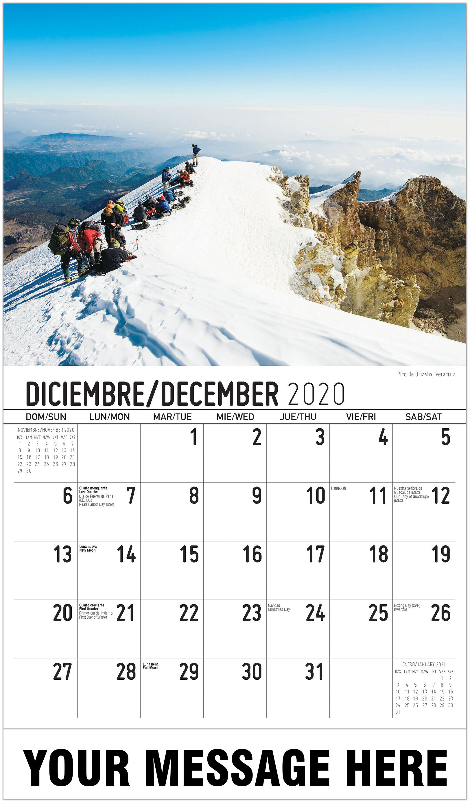 Images of Mexican Calendar Names 2021