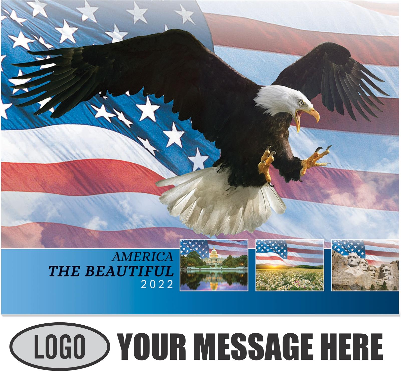 2022 America the Beautiful Promotional Calendar