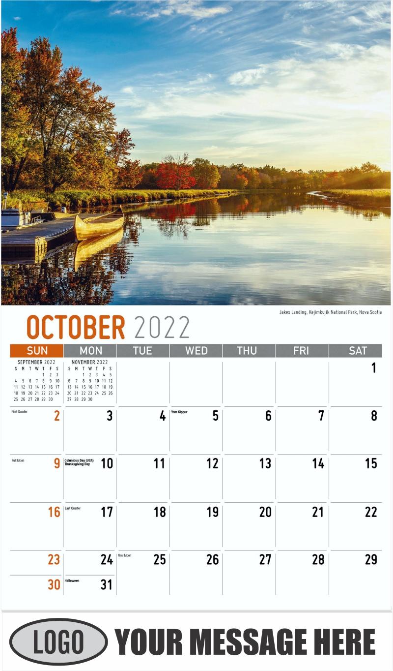 Francois, Newfoundland and Labrador - September - Atlantic Canada 2022 Promotional Calendar