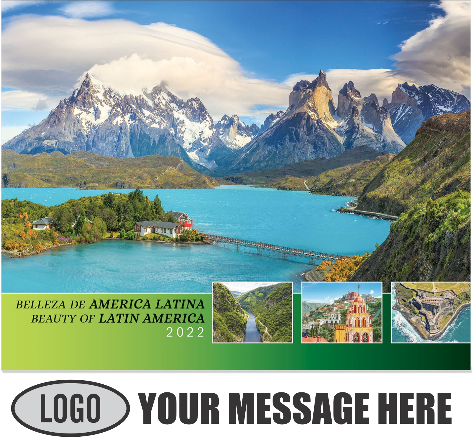 2022 Beauty of Latin America Promotional Calendar