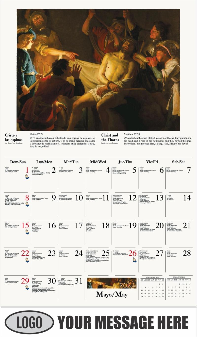 La Ascensión - June - Catholic Inspiration (Spanish-English bilingual) 2022 Promotional Calendar