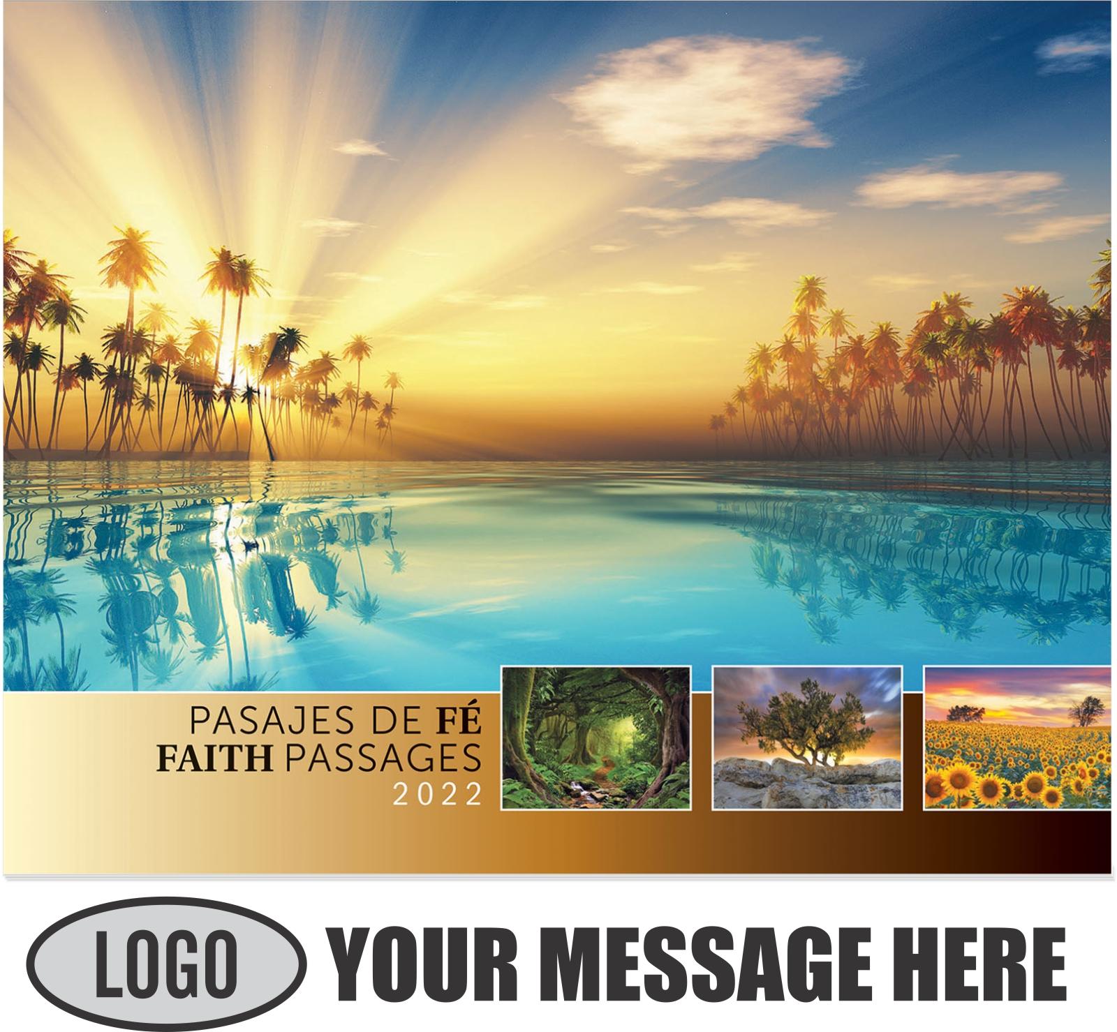 2022 Faith-Passages-Eng-Sp Promotional Calendar