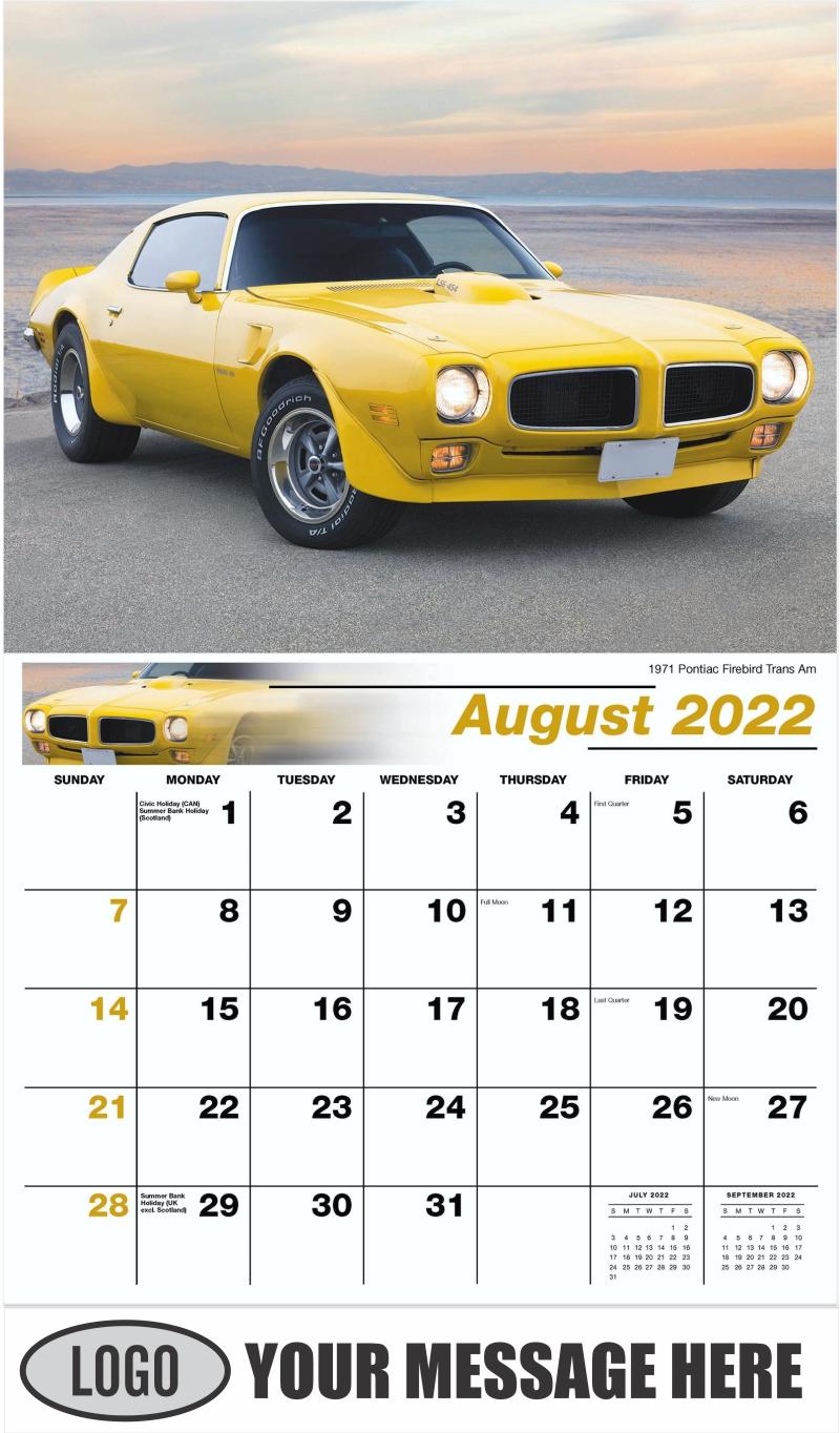 1959 Cadillac Eldorado Seville - August - GM Classics 2022 Promotional Calendar