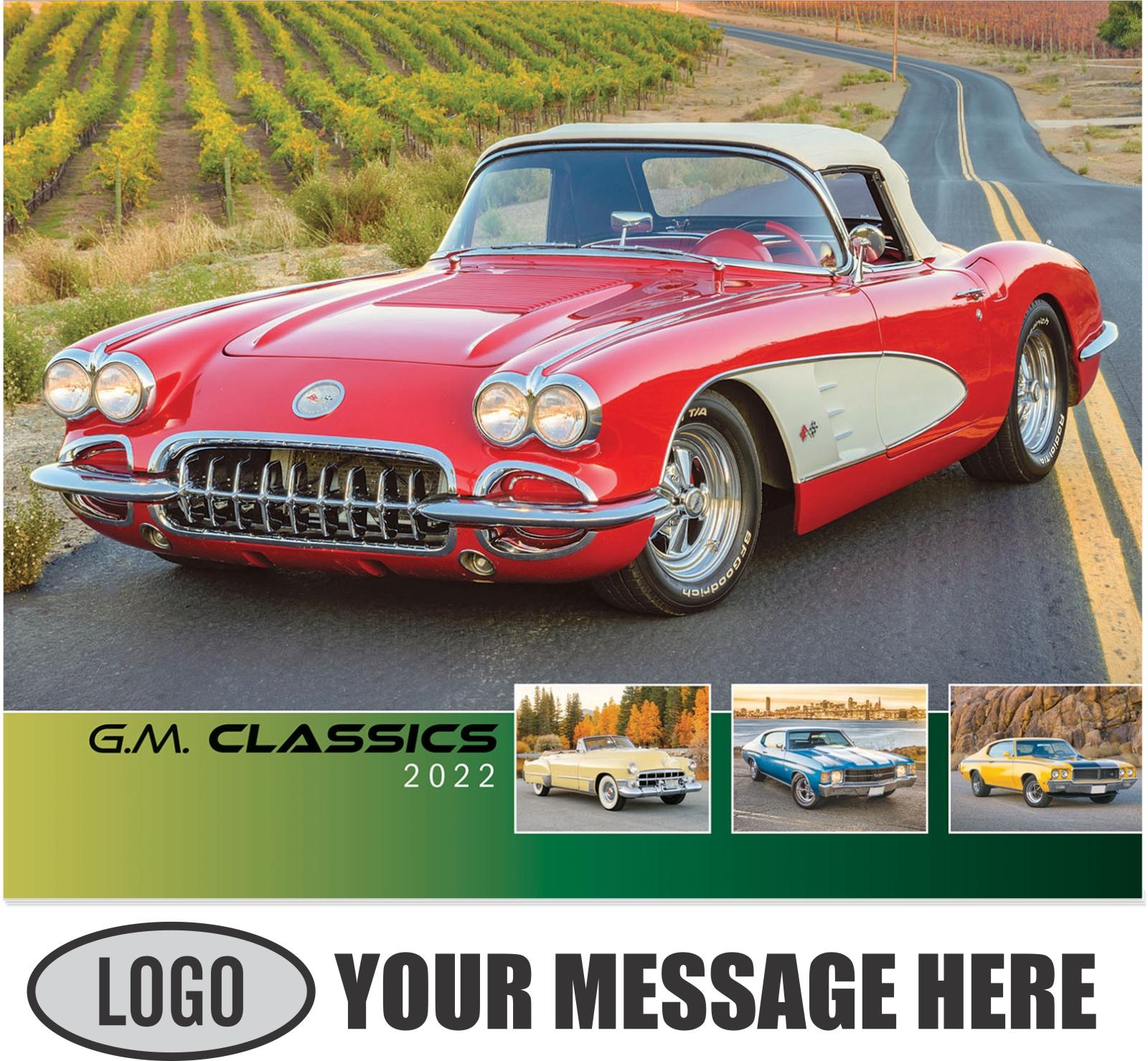 2022 GM Classics Promotional Calendar