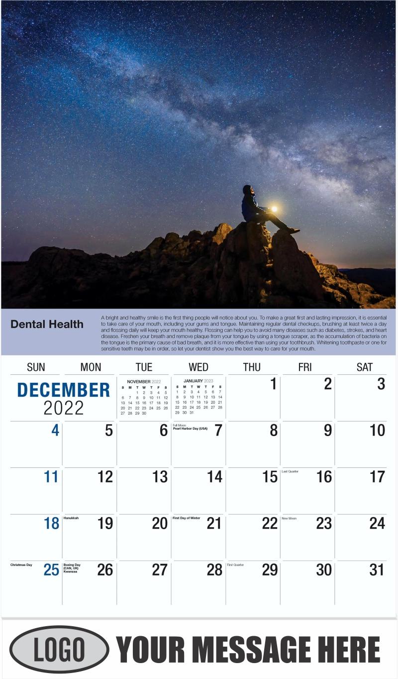 December 2022 - Health Tips 2022 Promotional Calendar