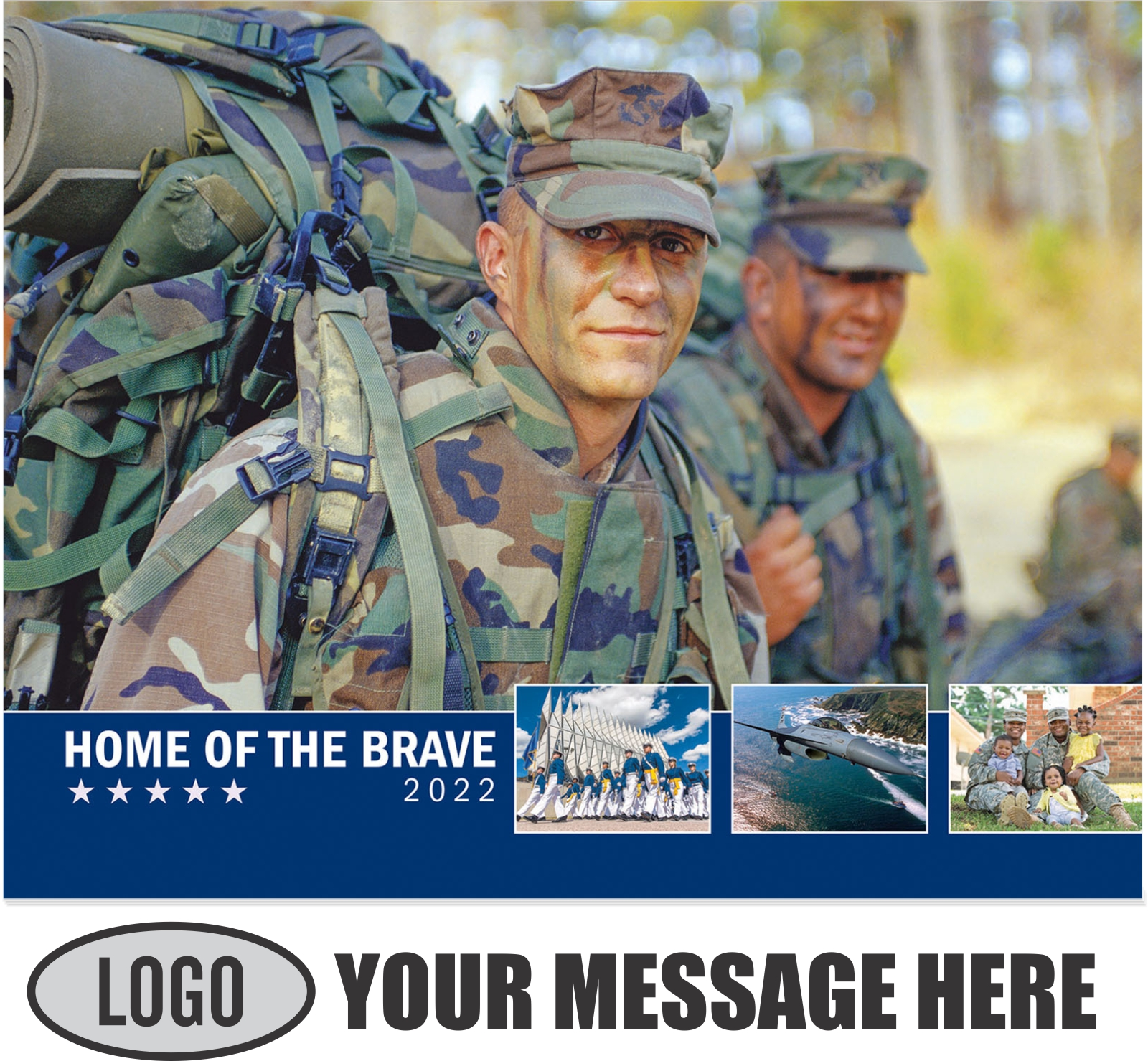 2022 Home of the Brave Promotional Calendar