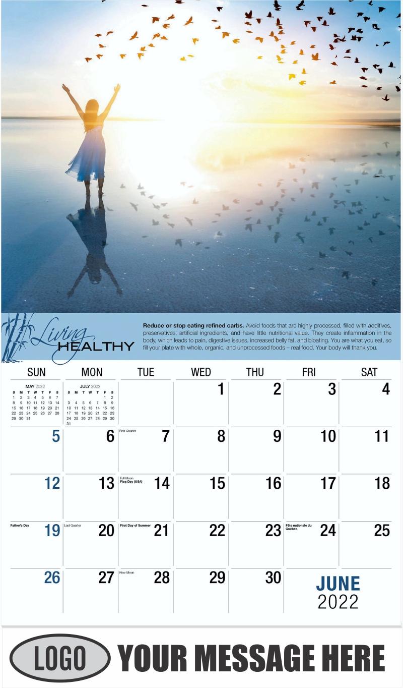 June - Living Healthy 2022 Promotional Calendar