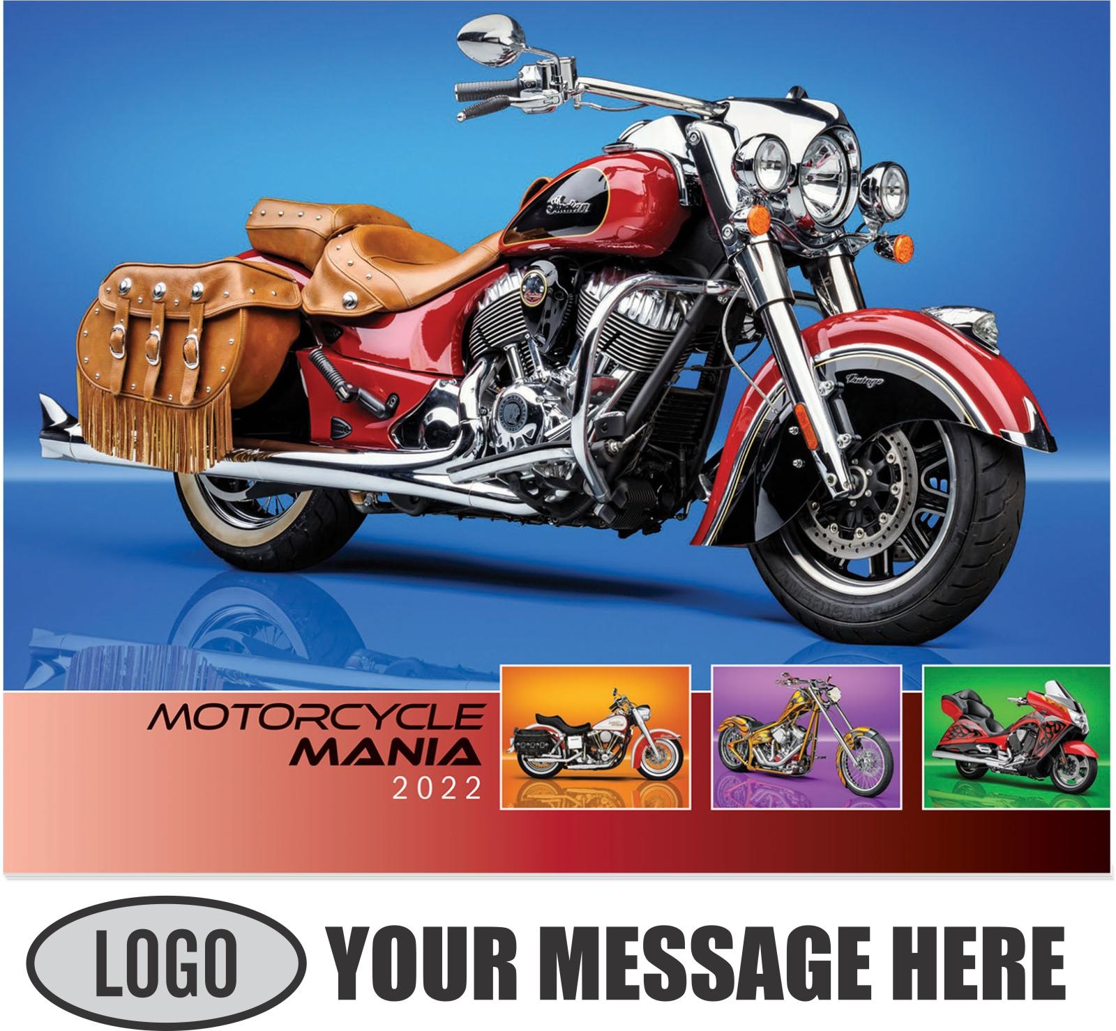 2022 Motorcycle Mania Promotional Calendar