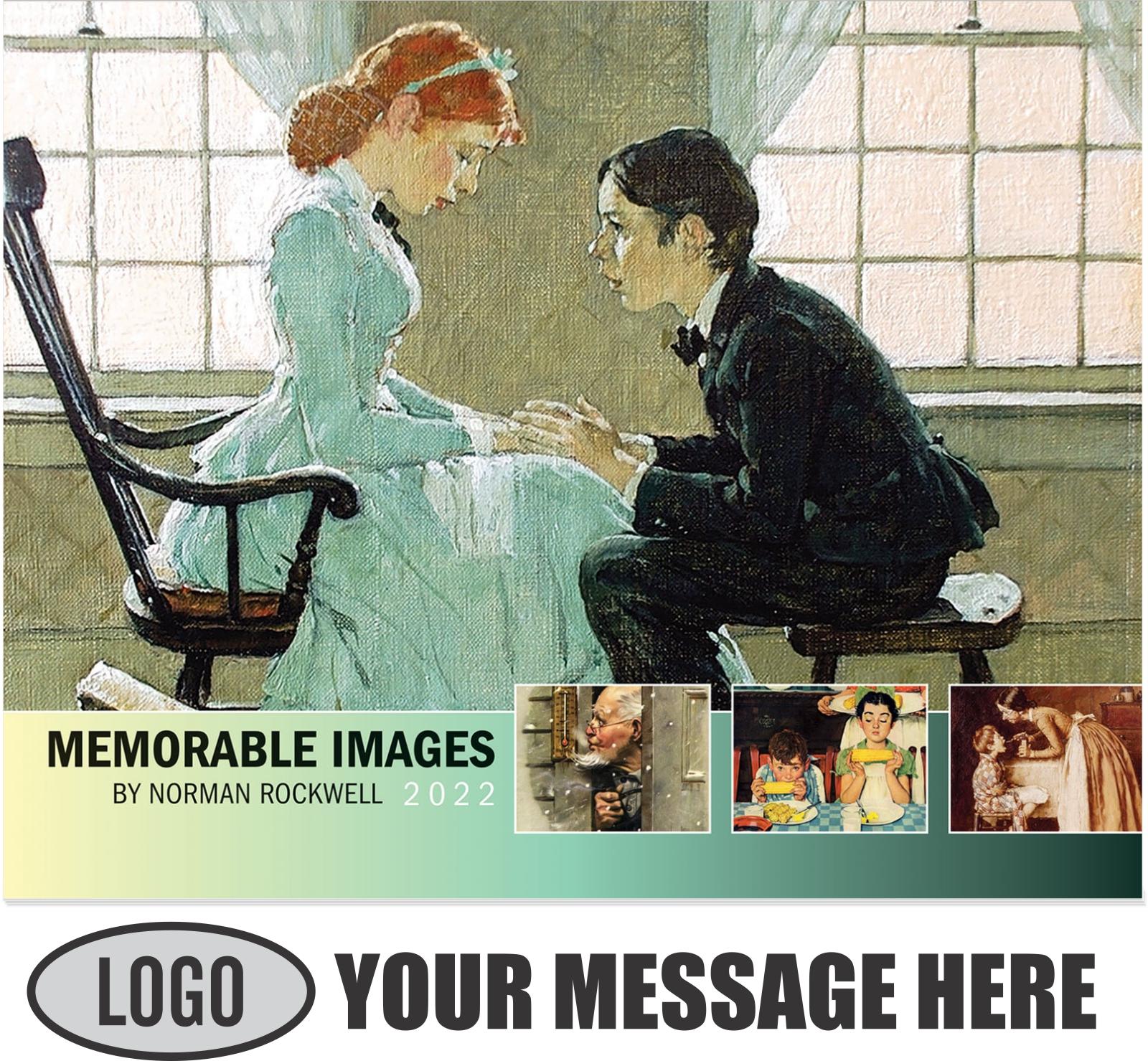 2022 Norman Rockwell - Memorable Images Promotional Calendar