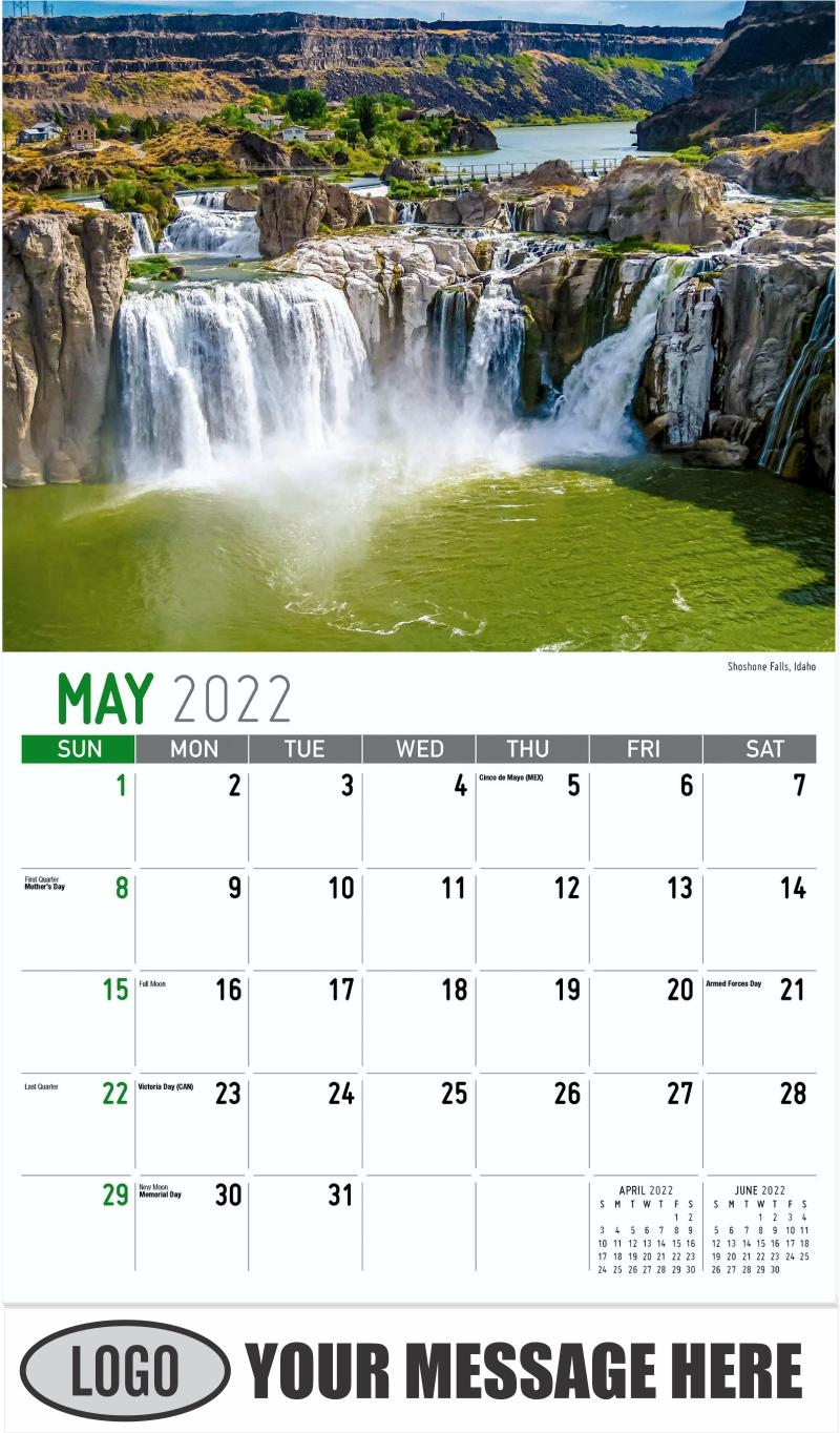 Glacier National Park, Montana - May - Scenes of America 2022 Promotional Calendar