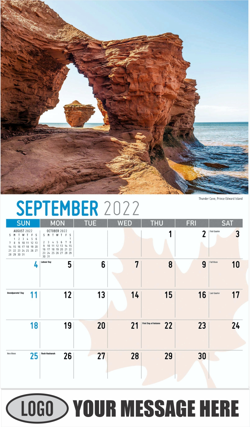 Kluane National Park, Yukon - September - Scenes of Canada 2022 Promotional Calendar