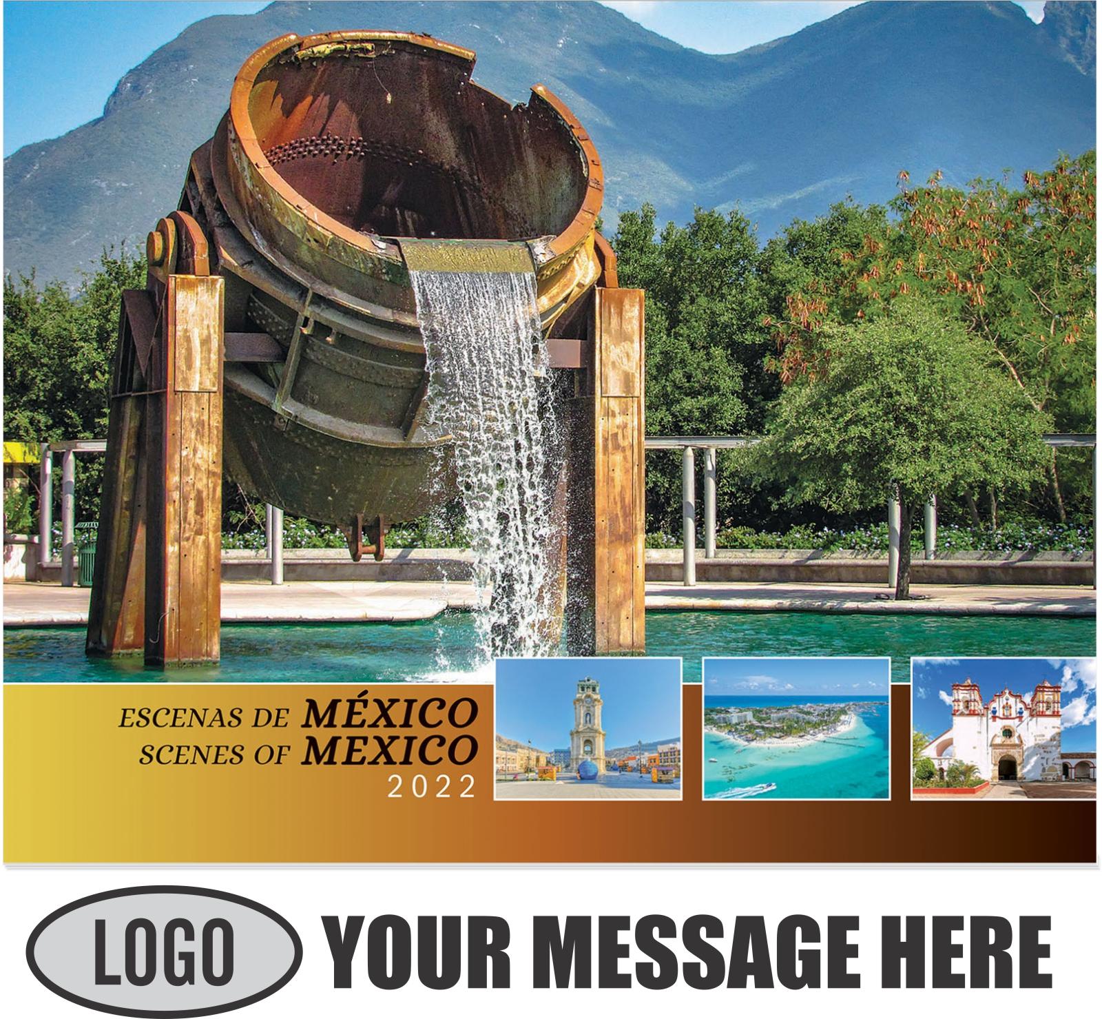 2022 Scenes of Mexico (Spanish-English bilingual) Promotional Calendar