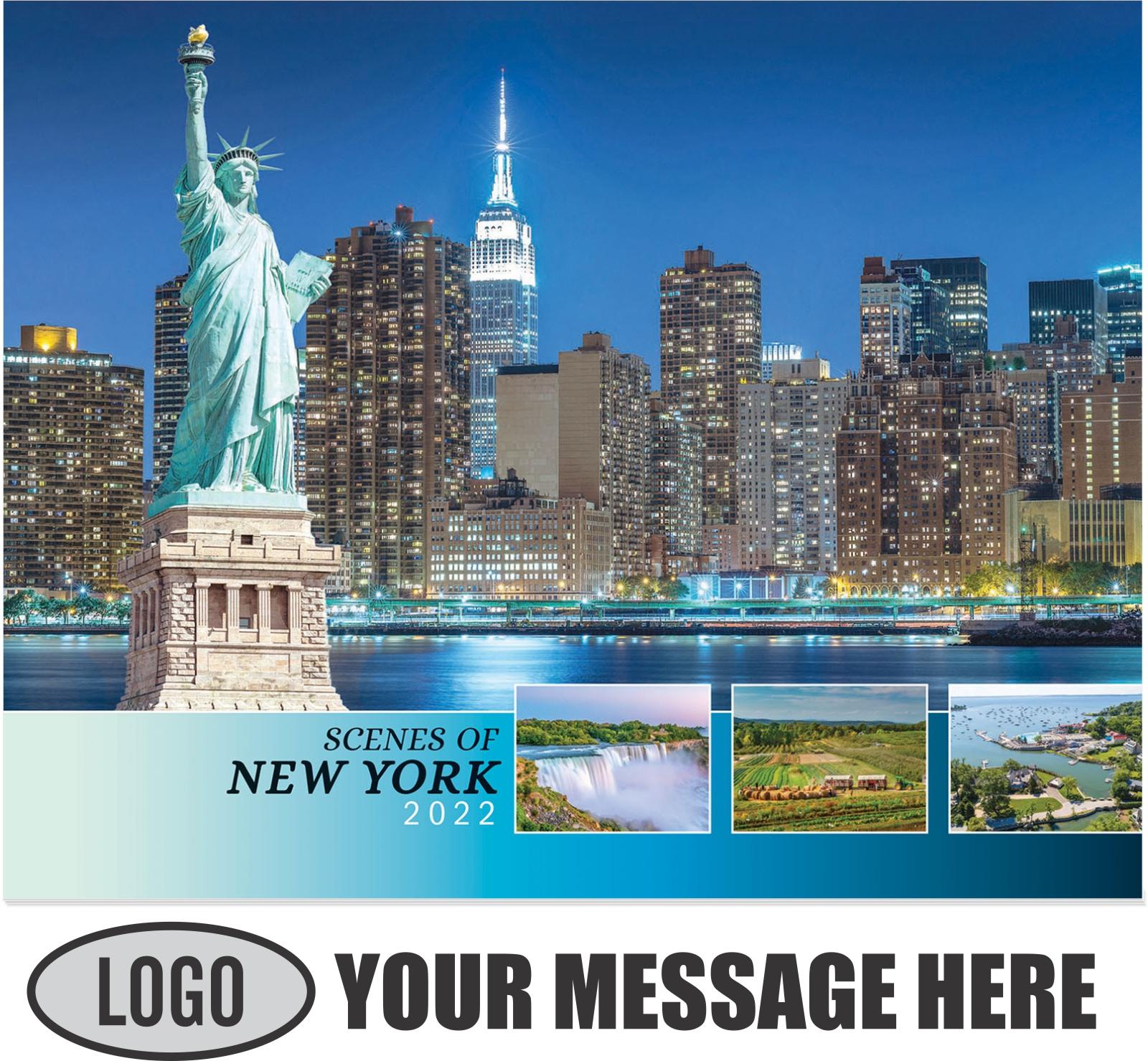 2022 Scenes of New York Promotional Calendar