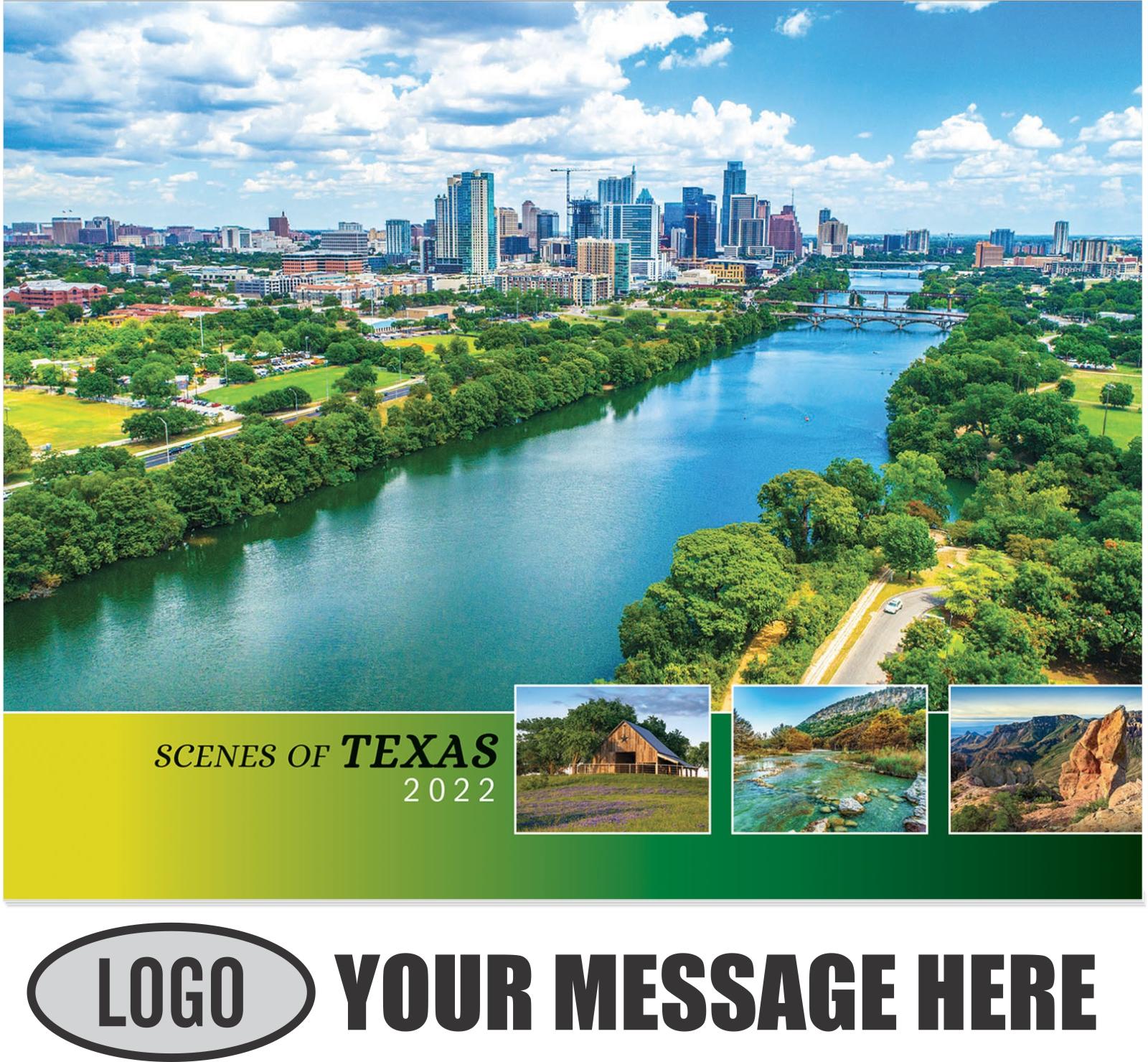 2022 Scenes of Texas Promotional Calendar