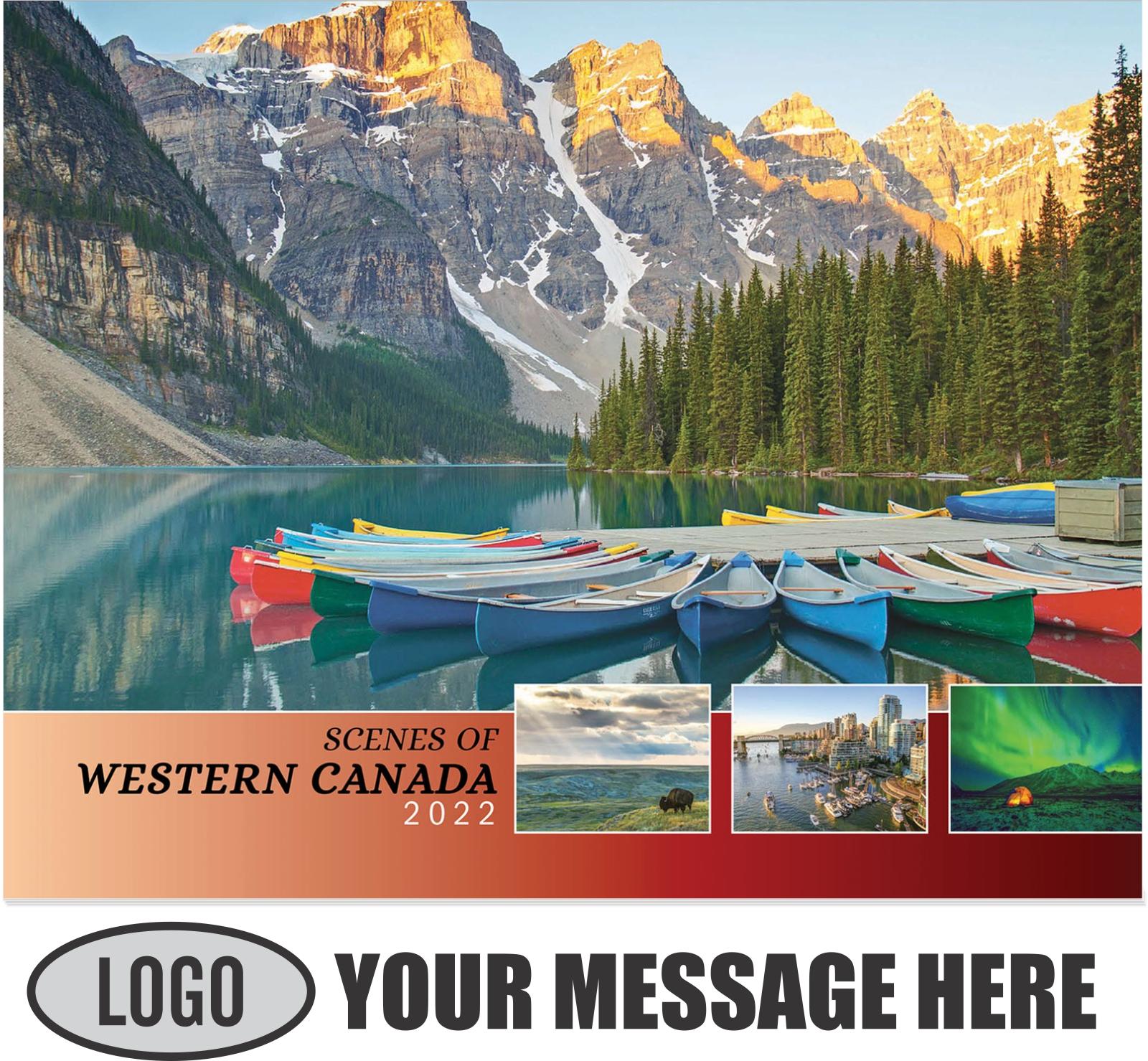 2022 Scenes of Western Canada Promotional Calendar