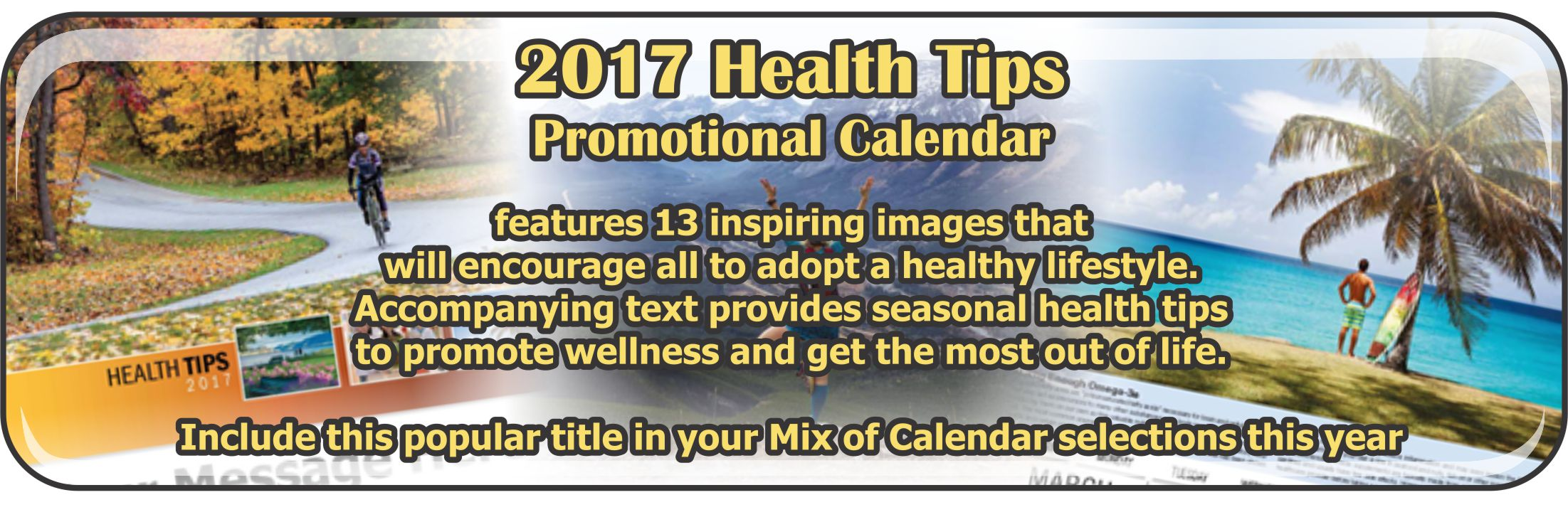 Promotional Calendars Direct featured Wall Calendar for Health Tips