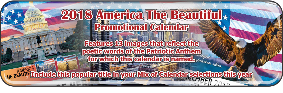 Promotional Calendars Direct featured Wall Calendar for America the Beautiful