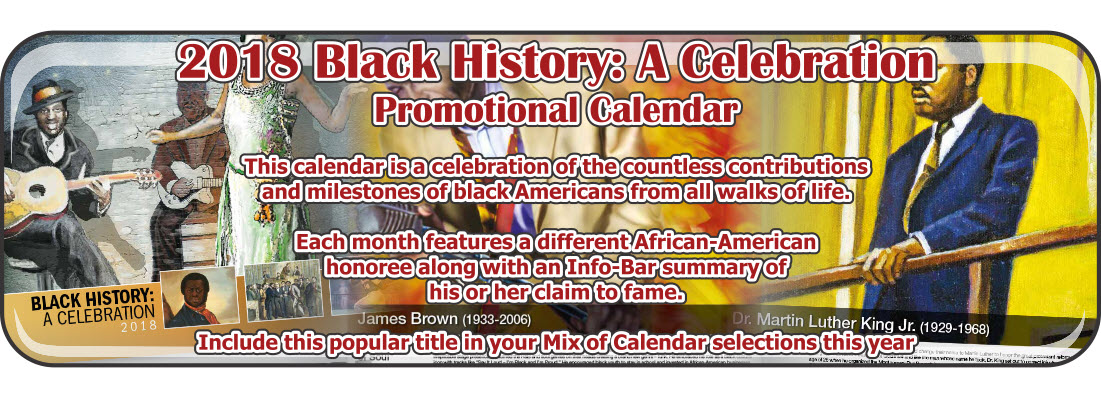 Promotional Calendars Direct featured Wall Calendar for Black History