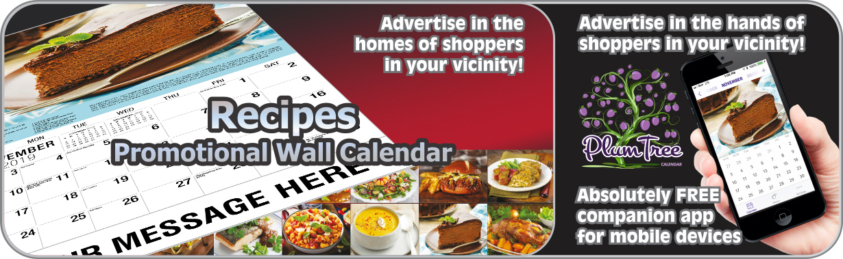 Promotional Calendars Direct featured Wall Calendar for Recipes