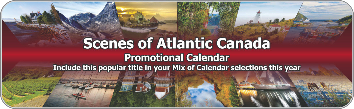 Promotional Calendars Direct featured Wall Calendar for Atlantic Canada