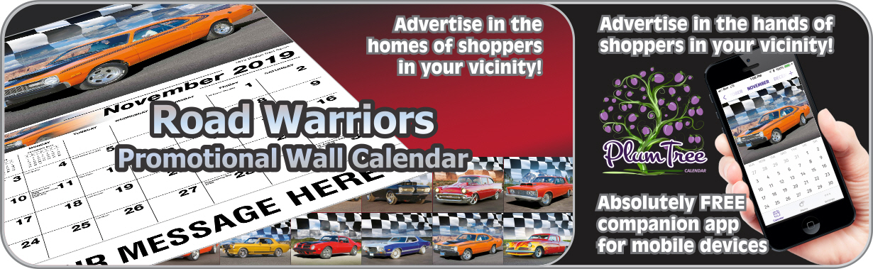 Promotional Calendars Direct featured Wall Calendar for Road Warriors