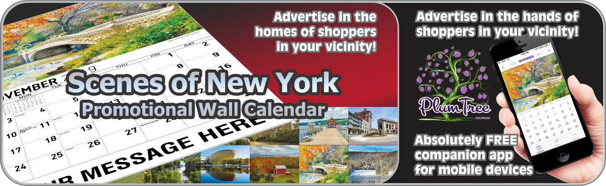 Promotional Calendars Direct featured Wall Calendar for Scenes of New York