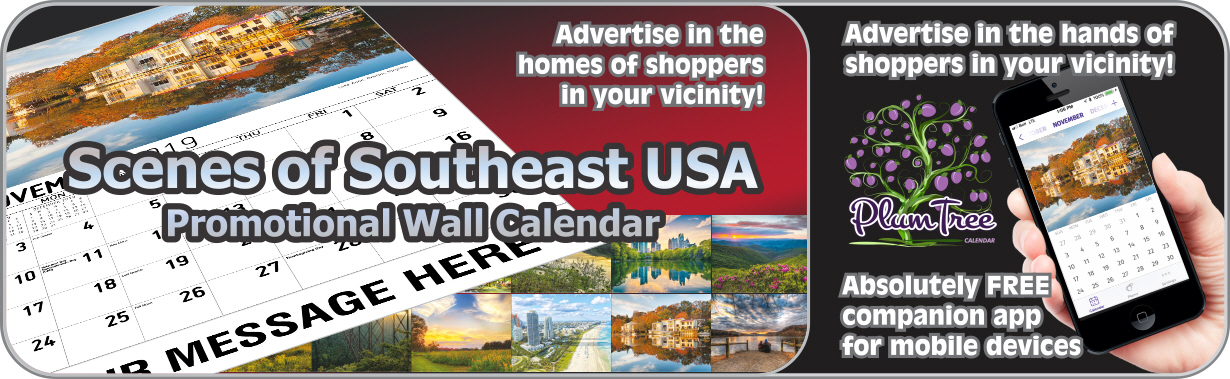 Promotional Calendars Direct featured Wall Calendar for Southeast USA