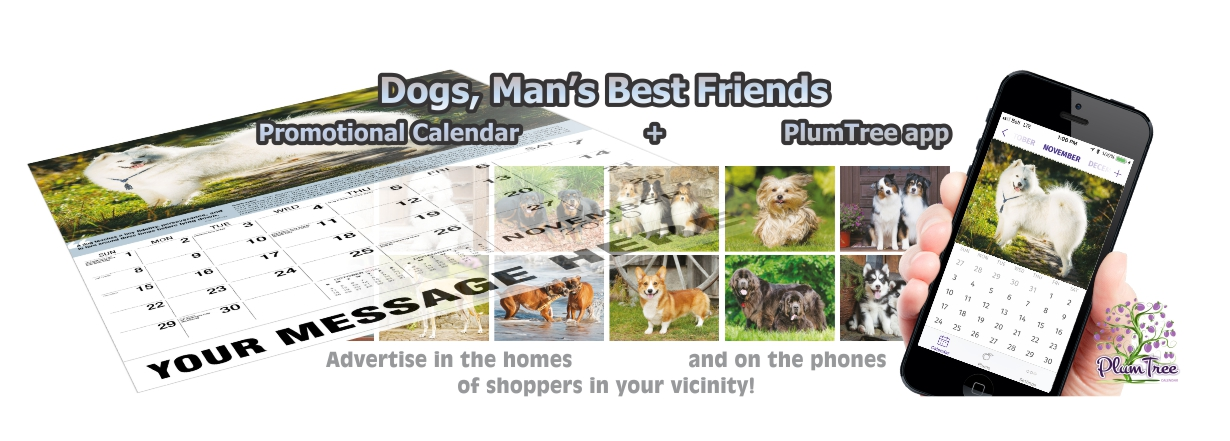 Promotional Calendars Direct featured Wall Calendar for Dogs