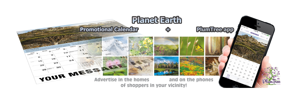 Promotional Calendars Direct featured Wall Calendar for Planet Earth
