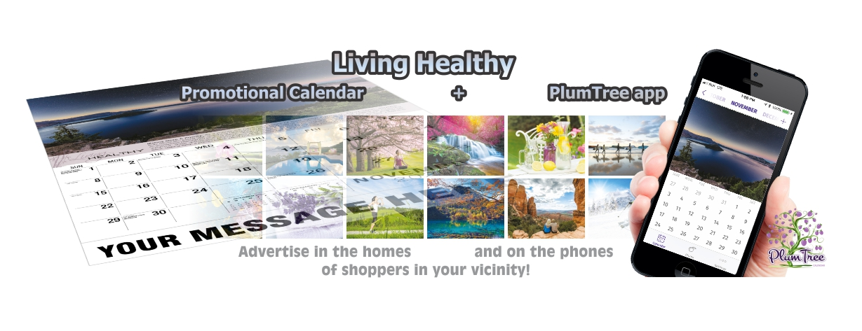 Promotional Calendars Direct featured Wall Calendar for Living Healthy